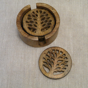 P1110257-Fair-Trade-Mango-wood-Tree-of-life-Holder-1-coaster