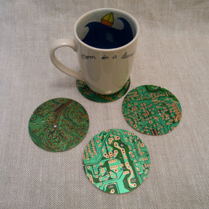 P1110317-fair-trade-Recycled-Circuit-board-coasters-4-with-mug