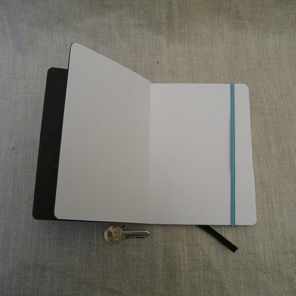 P1110327-Fair-trade-Handmade-paper-leather-look-notebook-journal-turquoise-open-with-key