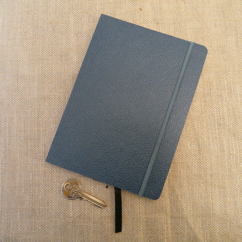 P1110331-Fair-trade-Handmade-paper-leather-look-notebook-journal-slate-blue-with-key