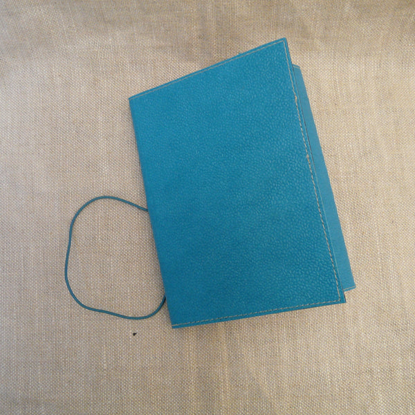 P1110336-Fair-trade-Handmade-paper-leather-look-A5-notebook-journal-Turquoise
