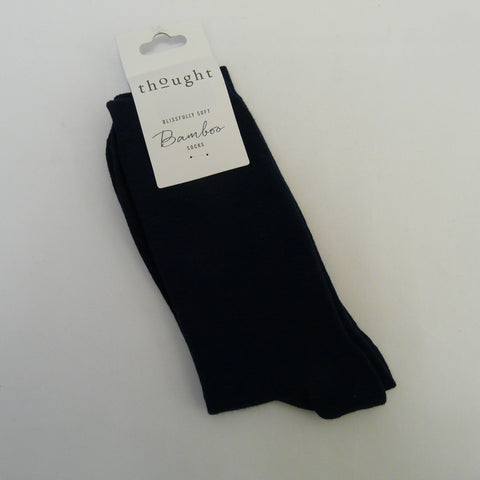 Bamboo-Mix-7-11-Socks-Jimmy-plain-Navy-self-coloured-heals-toes
