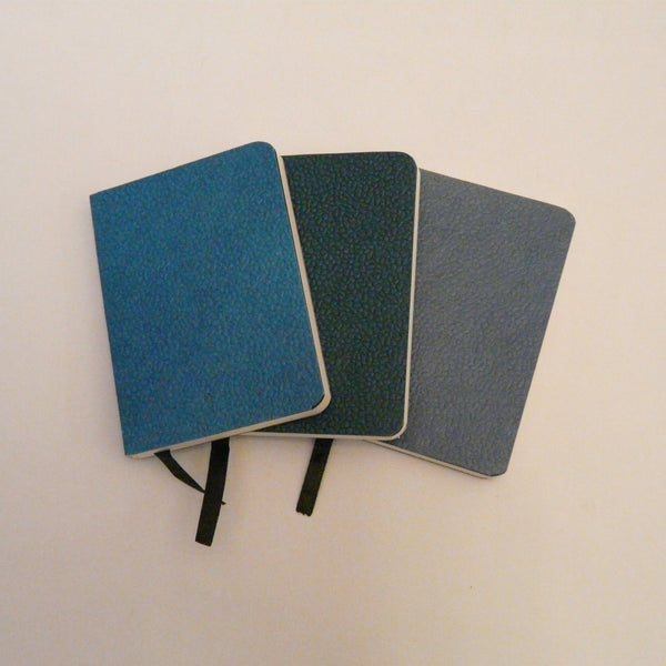 P1110585-Fair-Trade-Cotton-Leather-3x-A7-Handmade-Notebooks-Turquoise-Teal-Slate-Blue