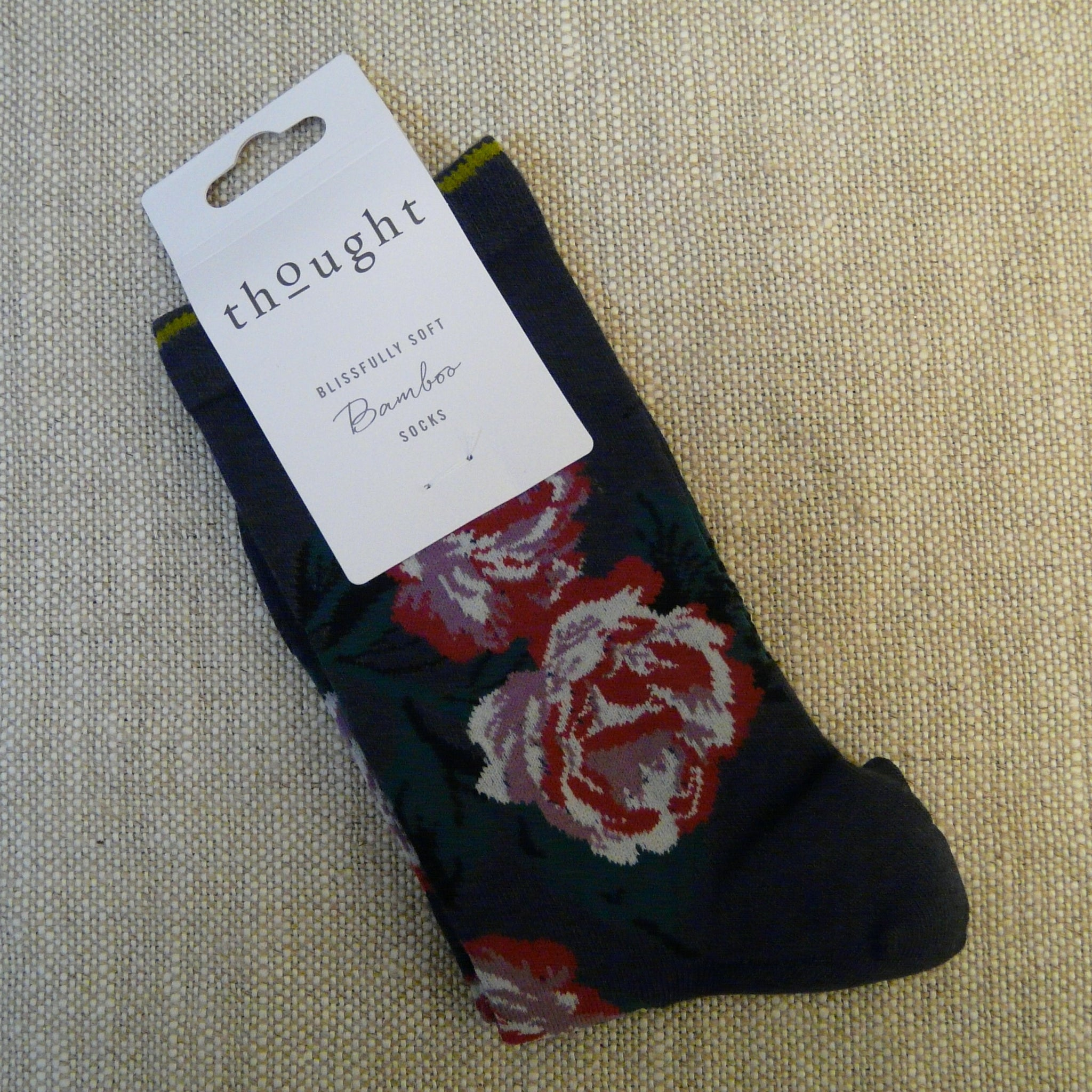 Indigo Old Rose Socks 4 - 7