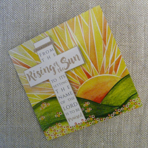 Rising of the Sun Easter Cards