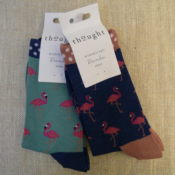 Blue Flamingo Socks 4 - 7