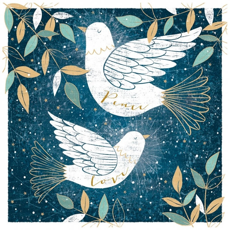 Two Doves Christmas Cards