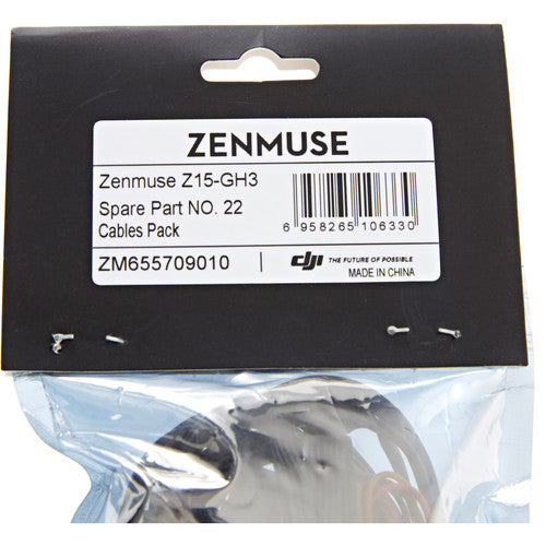 GH3 Cable Pack for Zenmuse Z15 Gimbal (Part 22)