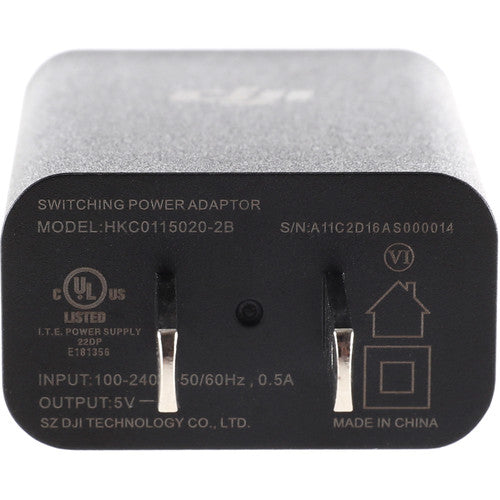 OSMO MOBILE Part 7 DJI 10W USB Power Adapter (NA)