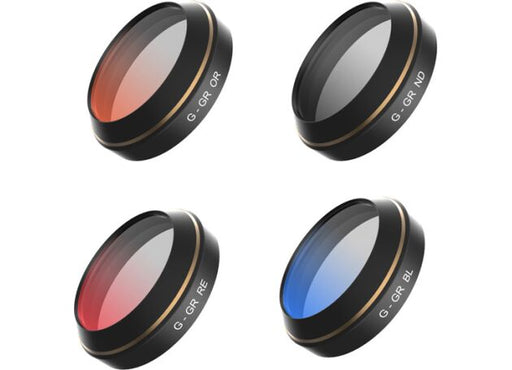 PGYTECH 4pcs set filters for DJI MAVIC (Red,Bule,Orange, Gray graduated )