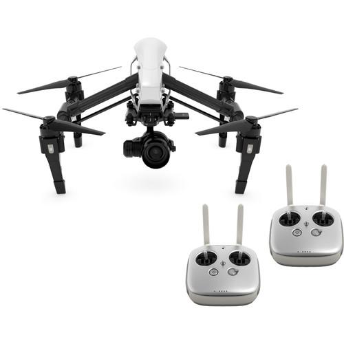 DJI Inspire 1 v2.0 RAW Quadcopter with Zenmuse X5R 4K Camera and 3-Axis Gimbal (Refurbished)