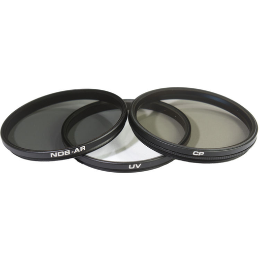 POLARPRO DJI Zenmuse X5S Filters (X5 compatible)3-Pack-UV, CP, ND8 Filters