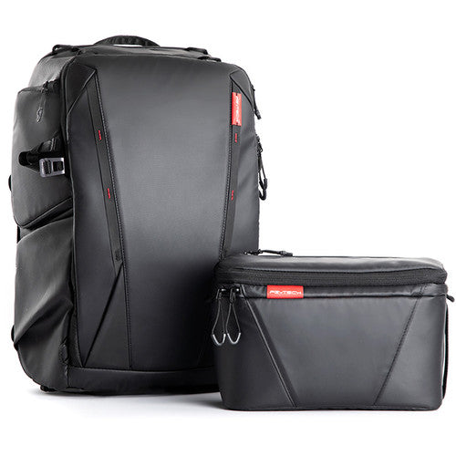 PGYTECH OneMo Backpack 25L+Shoulder Bag (Twilight Black)