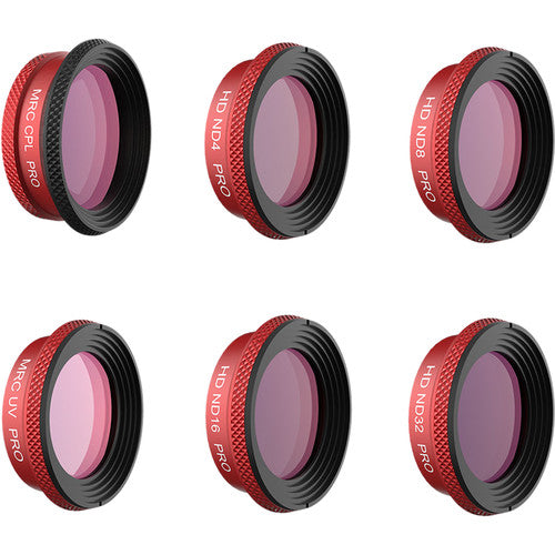 PGYTECH Pro Lens Filter Kit for DJI Mavic Air (UV / CPL / ND4/8/16/32)