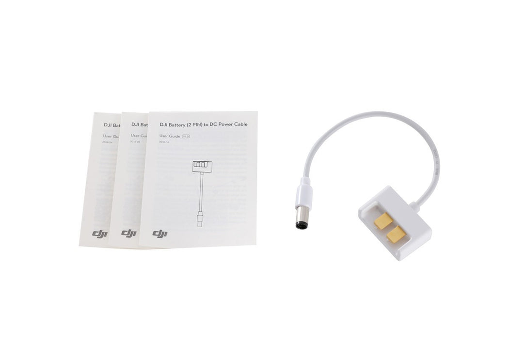 Phantom 3 Part 135 USB Charger Battery (2PIN) to DC Power Cable