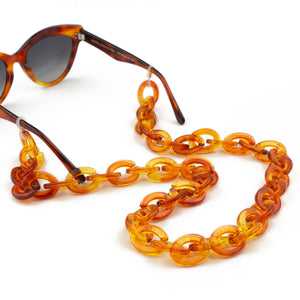 Sunglasses Chain / Amber