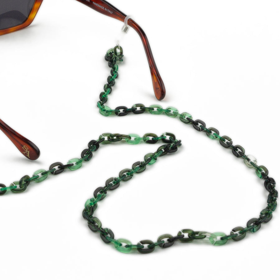 Sunglasses Chain / Emerald Thin