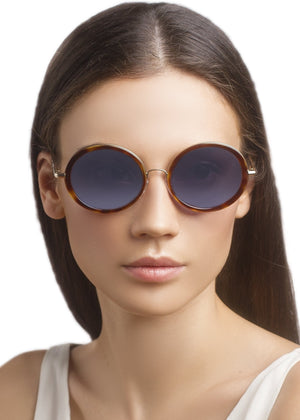 W1F SOHO / HAVANA BLUE - Fashion Women's Sunglasses Sienna Alexander London