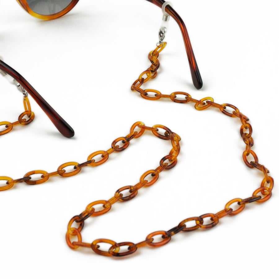 Sunglasses Chain | Light Havana Thin