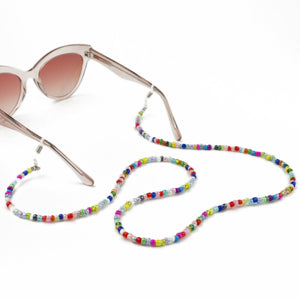 Sunglasses Chain / Multi-Colour Beaded
