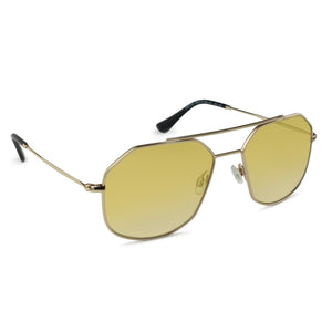 RETRO AVIATOR | YELLOW SEE THROUGH