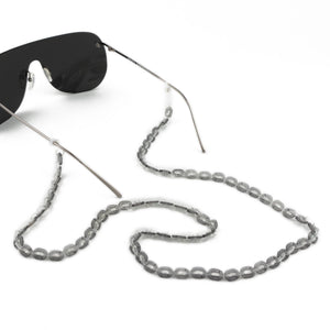 Sunglasses Chain / Transparent Grey Thin