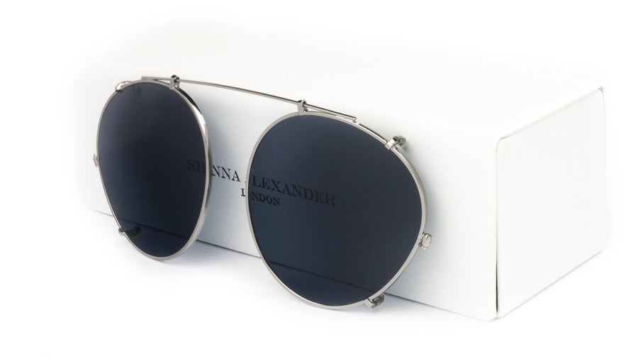 BLACK ON BLACK CLIP ON - Fashion Women's Sunglasses Sienna Alexander London