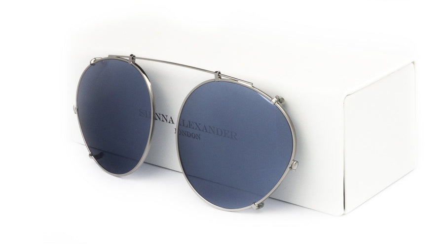 GREY MIRROR CLIP ON - Fashion Women's Sunglasses Sienna Alexander London