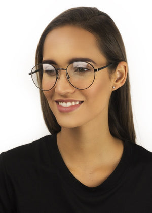 E1 Shoreditch - Black Optical - Fashion Women's Sunglasses Sienna Alexander London