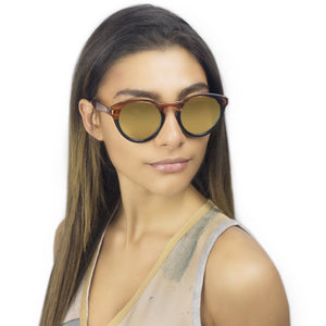 SW3 CHELSEA II / SPLIT BRONZE MIRROR - Fashion Women's Sunglasses Sienna Alexander London