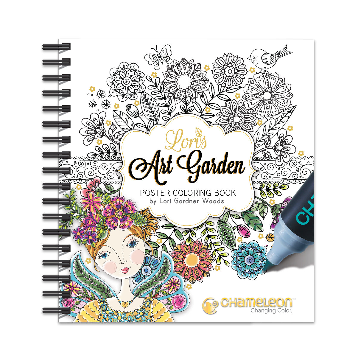 Coloring Book Art & Crafter Coloring Book | Chameleon Art Products ...