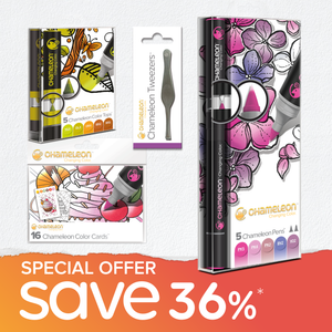 Special Offer Bundle - Chameleon Pens, Color Tops, Color Cards & Tweezers