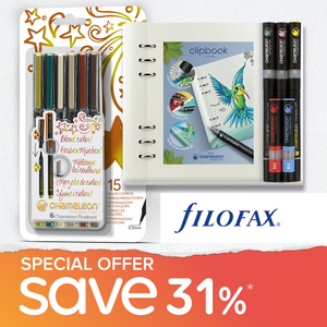 Special Offer Bundle - Chameleon Filofax Gift Set & Chameleon Fineliners