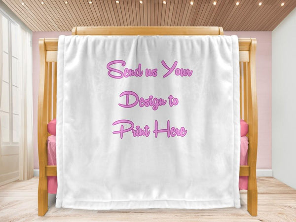 Cot blanket - Your Design - MeeM Store