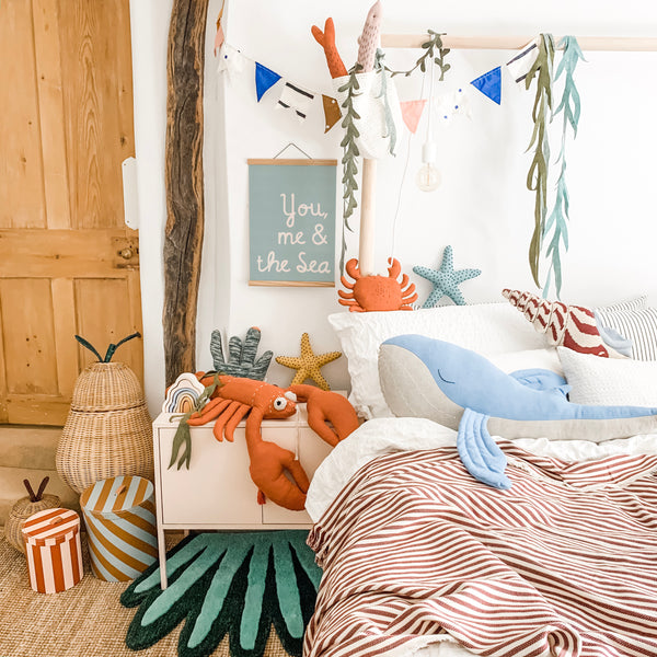 under the sea kids bedroom decor scandinavian style