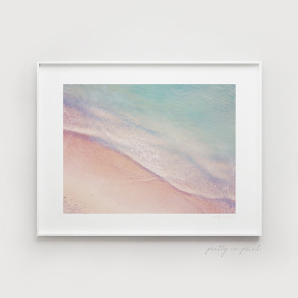 Aerial Beach View - Pretty in Print Art