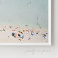Coastal Aerial Beach Photography | Aerial Beach View - Pretty in Print Art