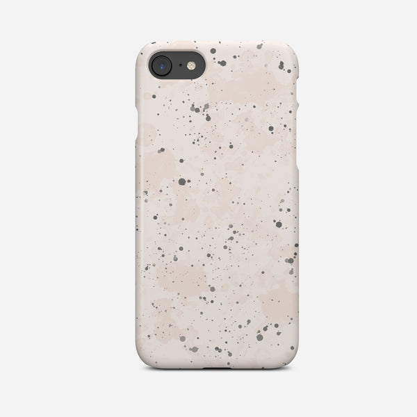 Blush Pink Splatter Abstract Art Phone Case - Pretty in Print Art