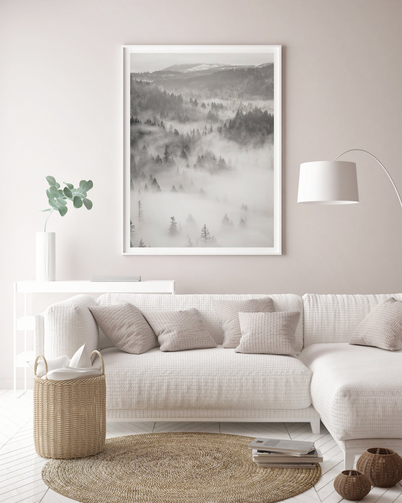 Misty Mountain Photography | Black & White Landscape Photography - Pretty in Print Art