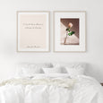 I must have flowers, always and always | Claude Monet Quote - Pretty in Print Art