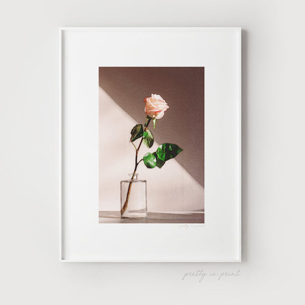 Rose Wall Art | Floral Decor Ideas - Pretty in Print Art