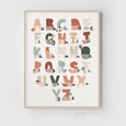 Alphabet Chart | Educational Scandi Nursery Design | Illustrated