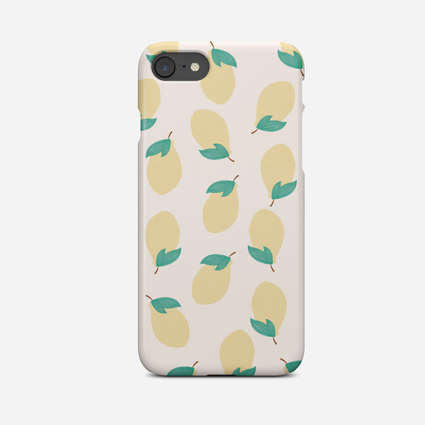 Lemon Phone Case | Pink and Yellow Phone Cover