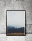 Portrait Misty Forest | Foggy Art | Landscape - Pretty in Print Art