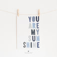You Are My Sunshine Lyrics | Nursery Art | Blues