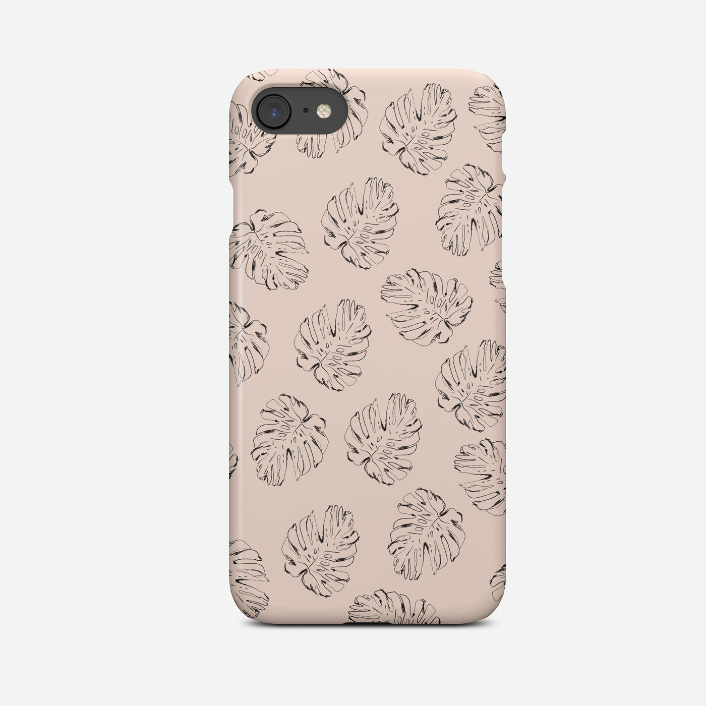 Monstera Leaf Phone Case - Pretty in Print Art