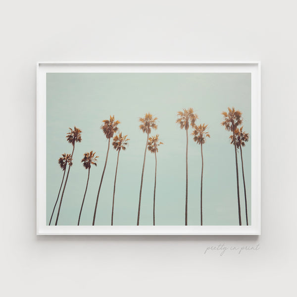 Palm Tree Print | California Style Interior - Pretty in Print Art