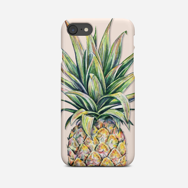 Pineapple Phone Case | Pink and Yellow Phone Cover