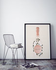 Stay Wild Laurent Perrier Champagne Print | Leopard Print Art - Pretty in Print Art
