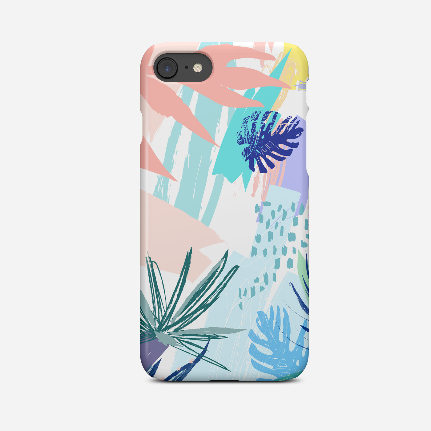 Tropical Abstract II Art Phone Case - Pretty in Print Art